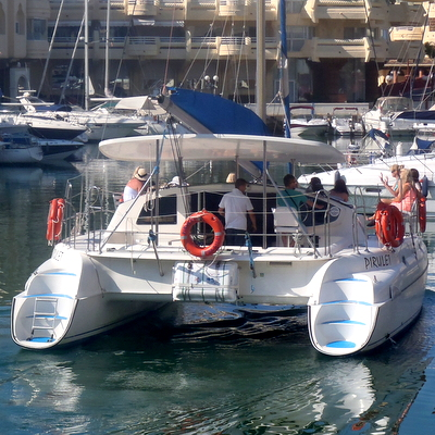 Hen Weekend Marbella, Catamaran guided tours on the Costa del sol