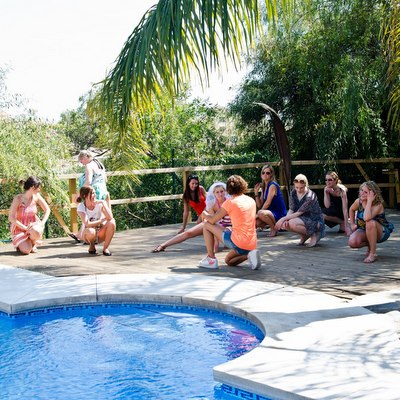 Hen Weekend Marbella Private pool party