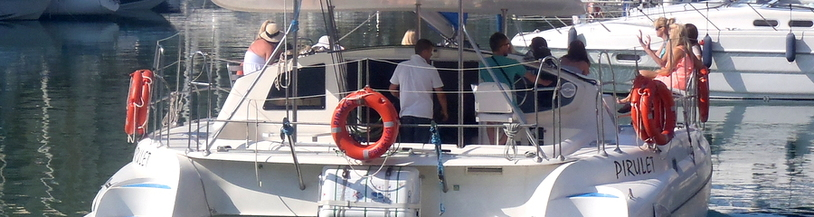 Catamaran tours in Benalmadena hen weeken