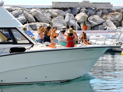 Private hen party boat charter