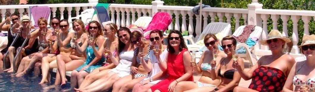 Champagne breakfast in Marbella, Spain and Spanish Hen Party organisers