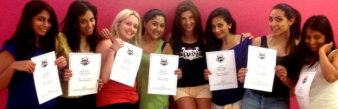 Pole dancing with Hen Weekends in Marbella Certificates of dance skills