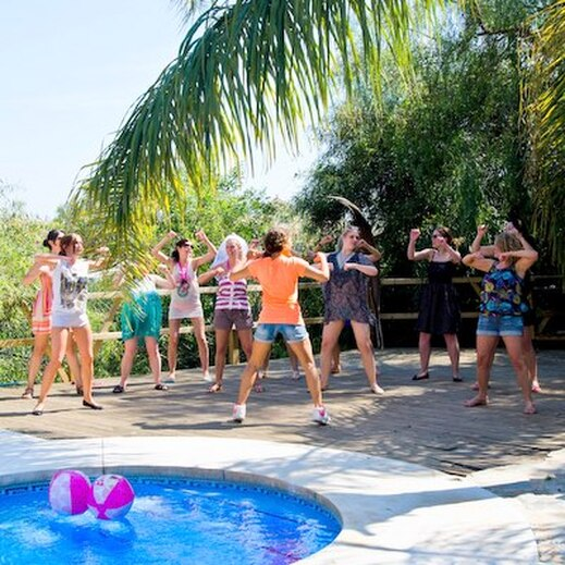 Marbella Poolside party with Hen Weekend Marbella Costa del Sol